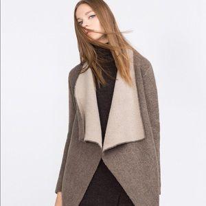 Zara Oversized Wool Cardigan